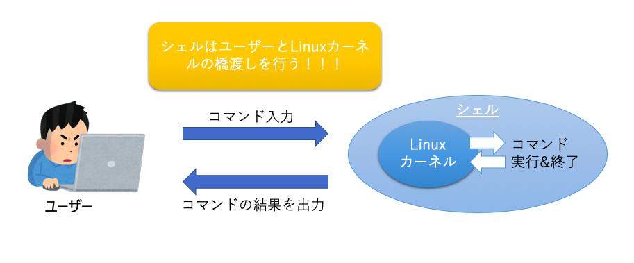 シェルの役割とLinuxカーネル