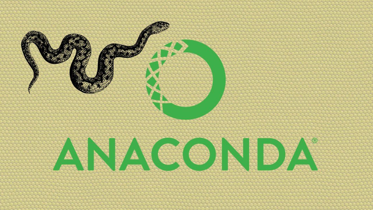 AnacondaでPython環境構築